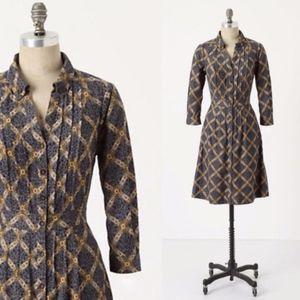 MAEVE ~ Sz 0 WIGHTWICK MANOR Corduroy Shirt Dress